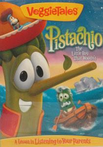 VEGGIETALES: PISTACHIO: THE LITTLE BOY THAT WOODN'T. DVD.