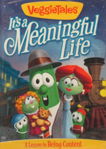 VEGGIETALES: IT'S A MEANINGFUL LIFE. DVD.