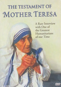THE TESTAMENT OF MOTHER TERESA. DVD.