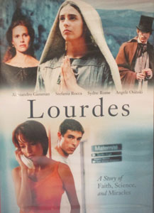LOURDES: A STORY OF FAITH, SCIENCE, AND MIRACLES. DVD.