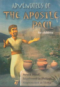 ADVENTURES OF THE APOSTLE PAUL FOR CHILDREN. DVD.