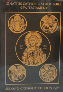 IGNATIUS CATHOLIC STUDY BIBLE NEW TESTAMENT Second Catholic Edition RSV