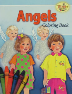 ANGELS, Coloring book #672