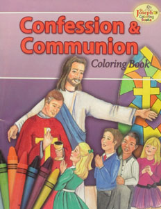 CONFESSION AND COMMUNION Coloring Book #695