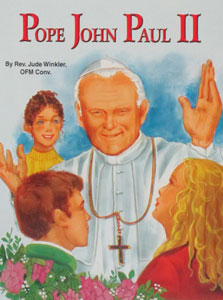 POPE JOHN PAUL II by Rev. Jude Winkler.  #527.