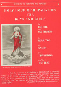 HOLY HOUR OF REPARATION FOR BOYS AND GIRLS