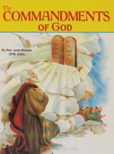 THE COMMANDMENTS OF GOD #514 by REV. JUDE WINKLER, OFM,CONV.