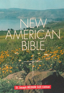 NEW AMERICAN BIBLE St. Joseph Medium Size Edition No. 609/04