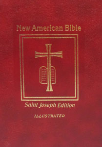 ST JOSEPH NEW AMERICAN BIBLE (Deluxe Gift Edition) Medium Size No. 609/13R