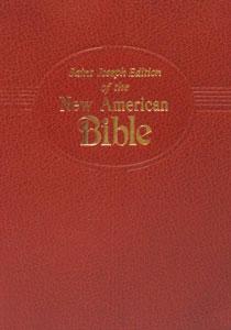 ST. JOSEPH NEW AMERICAN BIBLE (Gift  Edition) No. 609/10BN
