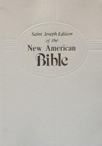 ST. JOSEPH NEW AMERICAN BIBLE (Gift Edition) No. 609/10W