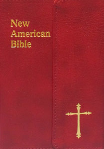 ST. JOSEPH NEW AMERICAN BIBLE (PERSONAL SIZE GIFT EDITION) No. 510/33BG LEATHER With Magnetic Close