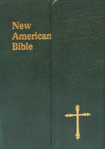 ST. JOSEPH NEW AMERICAN BIBLE (PERSONAL SIZE GIFT EDITION) No. 510/33GN LEATHER With Magnetic Close