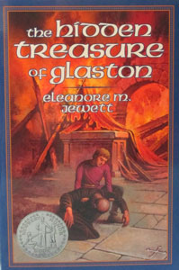 THE HIDDEN TREASURE OF GLASTON by Eleanore Jewet.