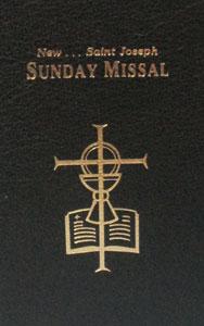 ST. JOSEPH SUNDAY MISSAL. 820/22-BK