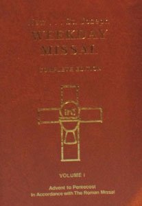 ST. JOSEPH WEEKDAY MISSAL. VOL 1 # 920/09.
