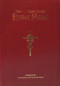 ST. JOSEPH SUNDAY MISSAL GIANT TYPE EDITION. #822/10BG