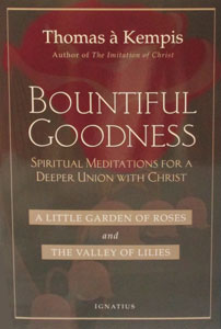 BOUNTIFUL GOODNESS Spiritual Meditations For A Deeper Union With Christ by THOMAS A KEMPIS