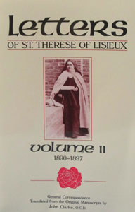 LETTERS OF ST. THERESE OF LISIEUX Volume II 1890-1897