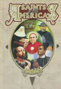 SAINTS OF THE AMERICAS by Elaine Murray Stone #RG14260