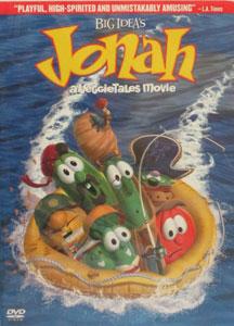 VEGGIETALES: JONAH: A VEGGIETALES MOVIE. DVD.