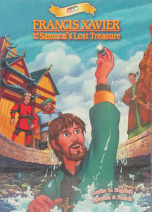 FRANCIS XAVIER AND THE SAMURAI'S LOST TREASURE. DVD.