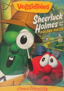 VEGGIETALES: SHEERLUCK HOLMES AND THE GOLDEN RULER. DVD.