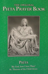 THE PIETA PRAYERBOOK, LARGE PRINT