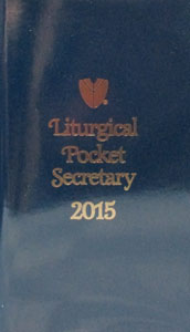 THE LITURGICAL POCKET SECRETARY. 2015