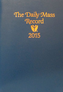 THE DAILY MASS RECORD. 2015