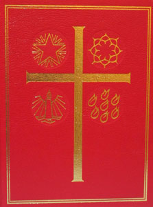 LECTIONARY FOR SUNDAY MASS.  Leather binding No. 90/13.