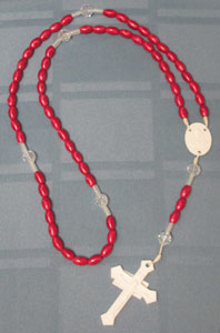 Red Chaplet for Devotion to Precious Blood