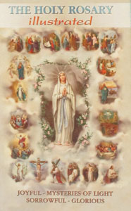 THE HOLY ROSARY, Illustrated No. HR-01