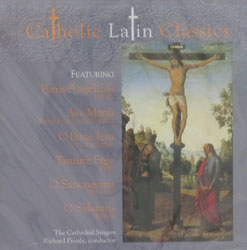 CATHOLIC LATIN CLASSICS  CD