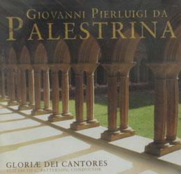GIOVANNI PIERLUIGI DA PALESTRINA Gloriae Dei Cantores. CD.