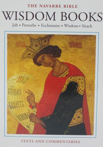 WISDOM BOOKS, Job, Proverbs, Ecclesiastes, Wisdom and Sirah. (Navarre Bible Commentary) Hardcover