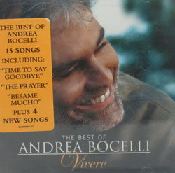 THE BEST OF ANDREA BOCELLI, Vivere CD