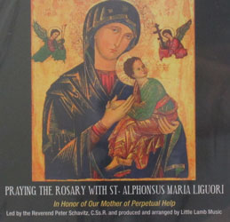 PRAYING THE ROSARY WITH ST. ALPHONSUS MARIA LIGUORI CD