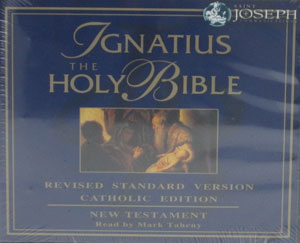 IGNATIUS THE HOLY BIBLE New Testament Revised Standard Version Catholic Edition on CD