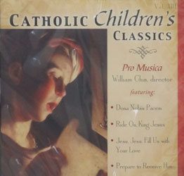 CATHOLIC CHILDREN'S CLASSICS  CD