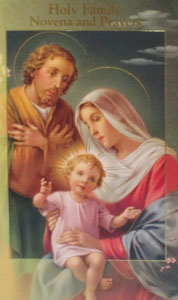 HOLY FAMILY NOVENA AND PRAYERS by DANIEL A. LORD, S.J.