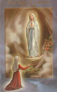 OUR LADY OF LOURDES NOVENA by DANIEL A. LORD, S.J.