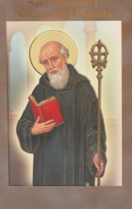 SAINT BENEDICT NOVENA AND PRAYERS by DANIEL A. LORD, S.J.
