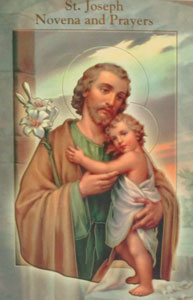 ST. JOSEPH NOVENA AND PRAYERS  by DANIEL A. LORD, S.J.