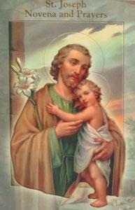 ST. JOSEPH NOVENA AND PRAYERS  by DANIEL A. LORD, S.J.