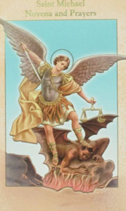 SAINT MICHAEL NOVENA AND PRAYERS by REV. JOHN J. KIERNAN P.R.