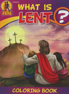 WHAT IS LENT? Coloring Book