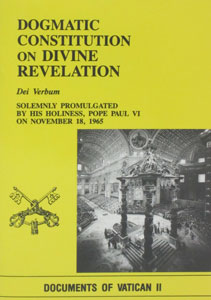 DOGMATIC CONSTITUTION ON DIVINE REVELATION (DEI VERBUM)