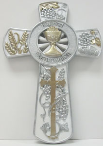 FIRST COMMUNION CROSS No. 40945