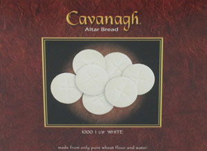 CAVANAGH COMMUNION HOSTS 1 1/8 White